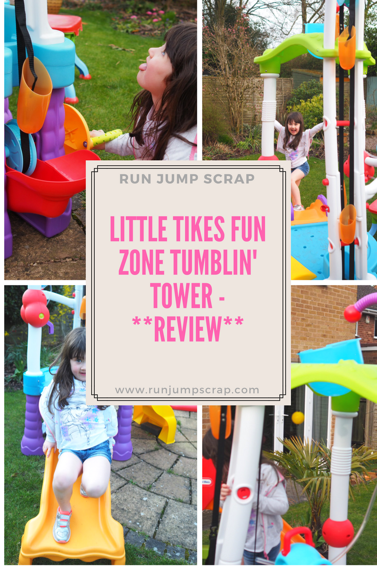 The Little Tikes Tumblin' Tower Review