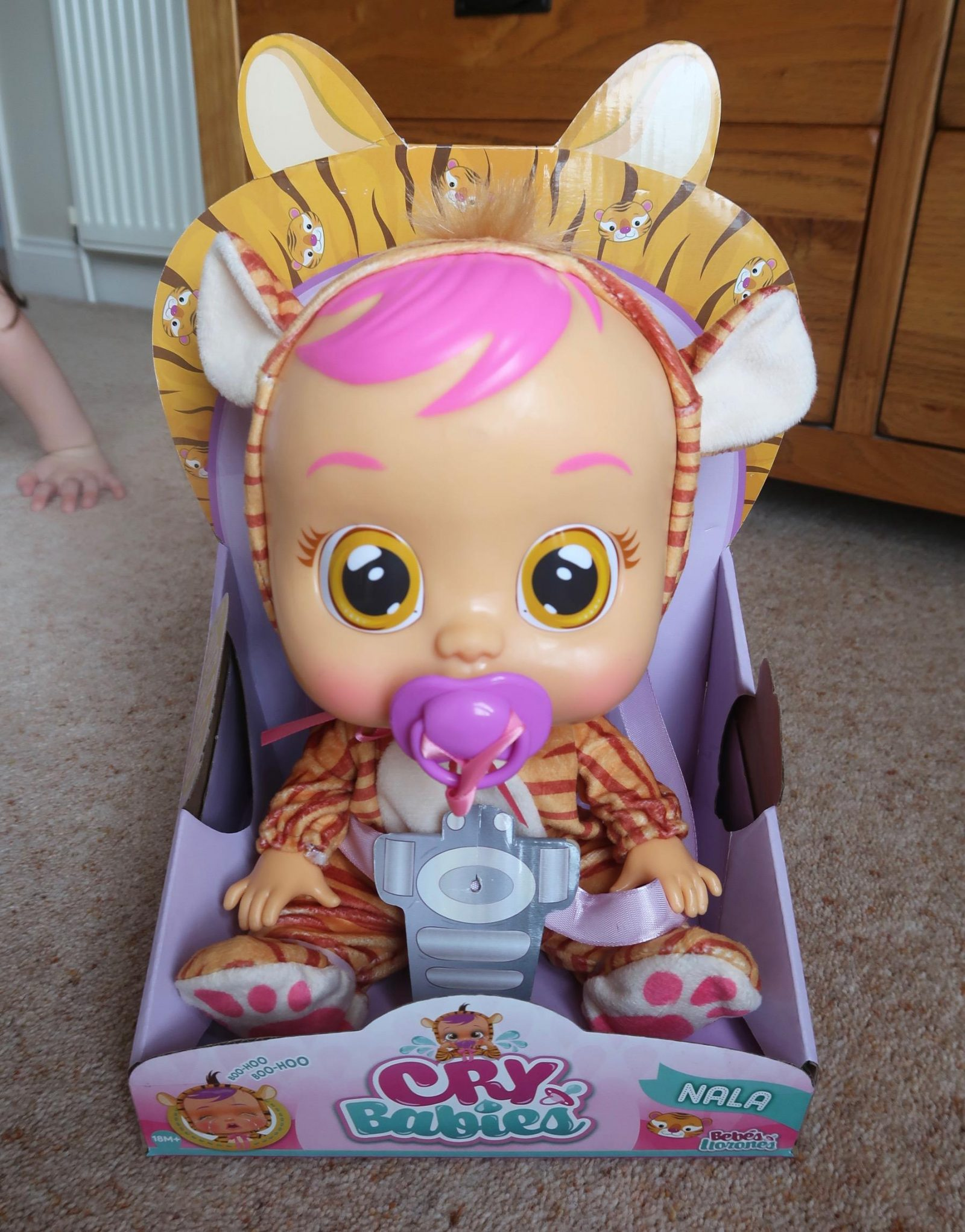 nala cry baby doll - cry baby doll review
