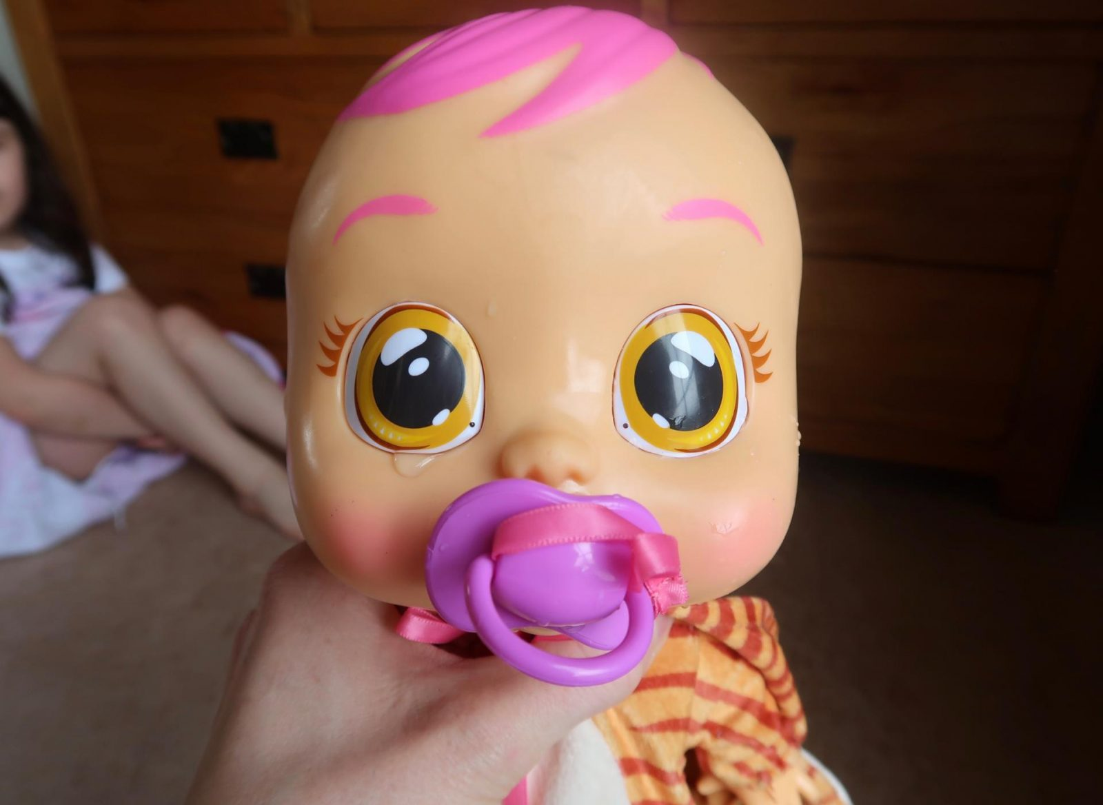 cry baby doll cries real tears