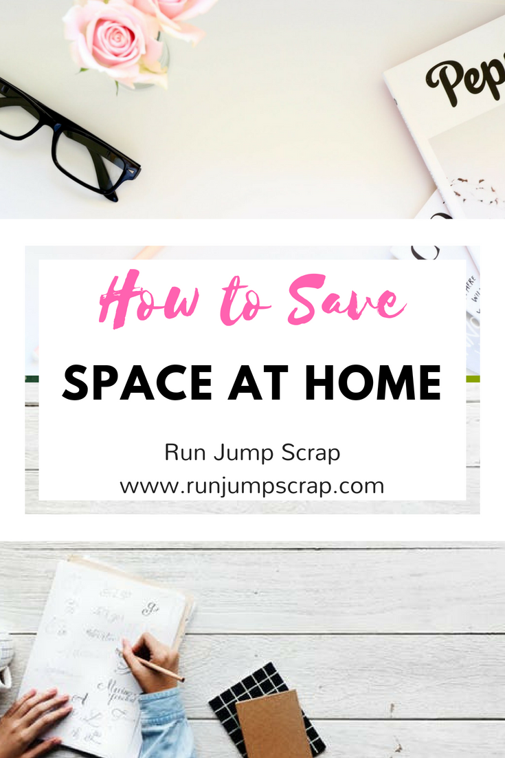 how to save space at home