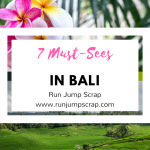 7 Must-Sees in Bali