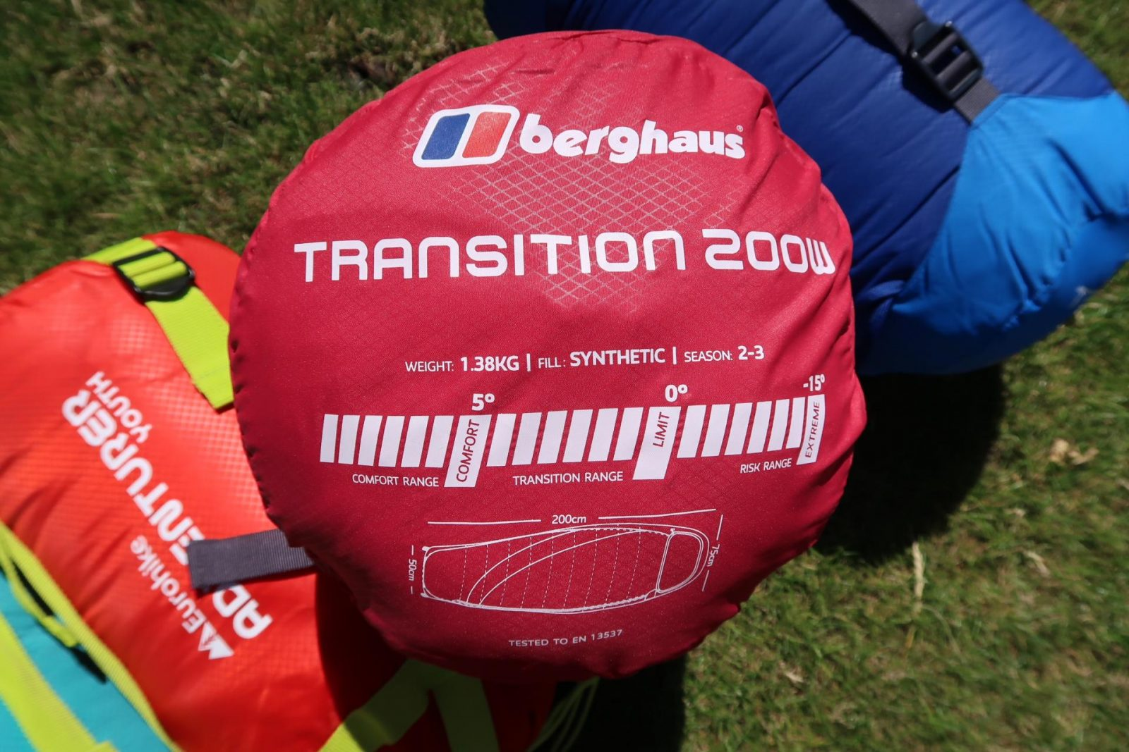 Berghaus transition 200w sleeping bag