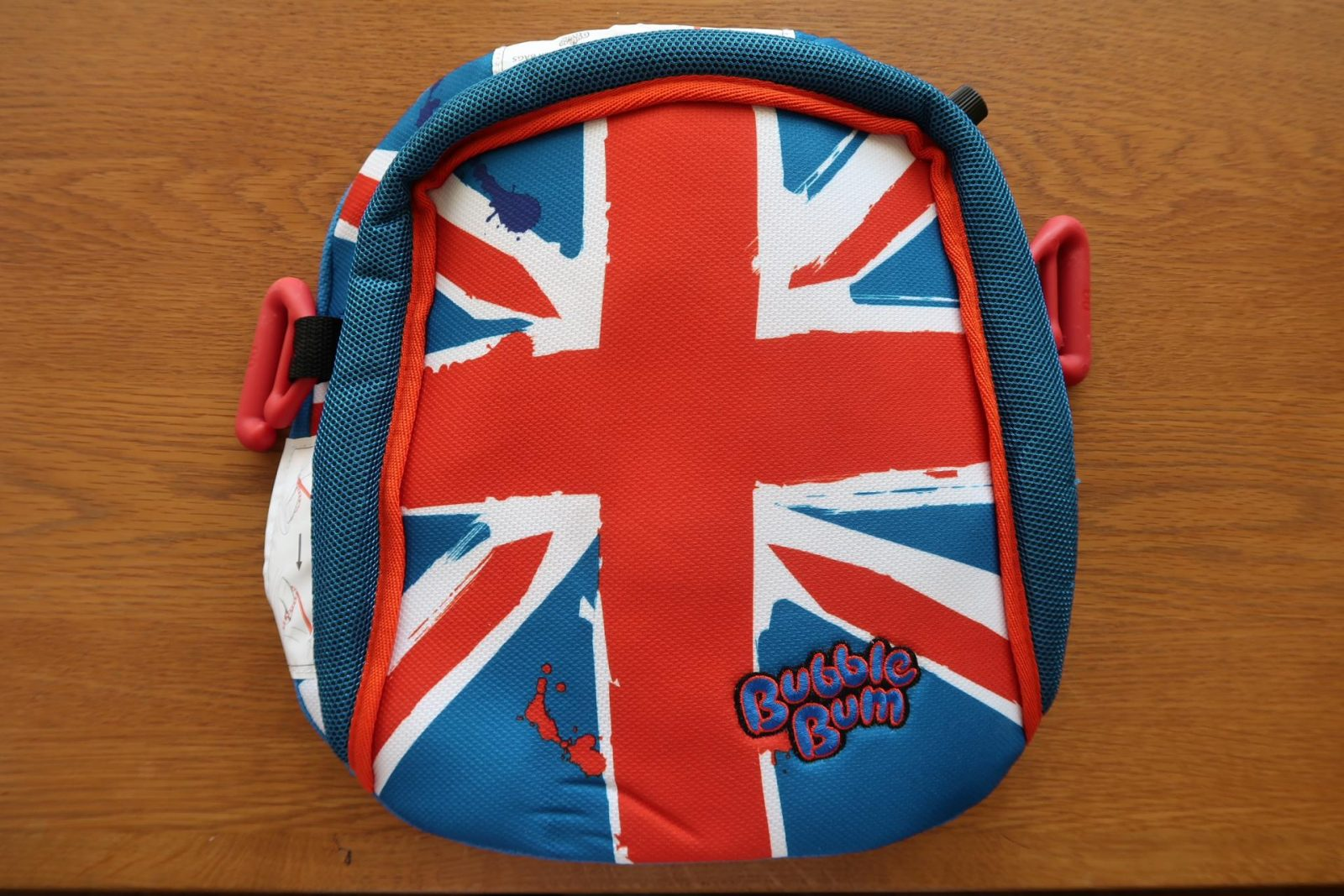 The Bubble Bum Inflatable Booster Seat Union Jack