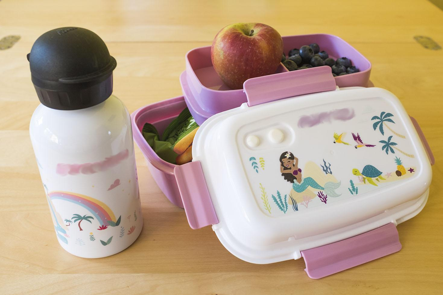 Petit-Fernand personalised drink bottle and lunchbox