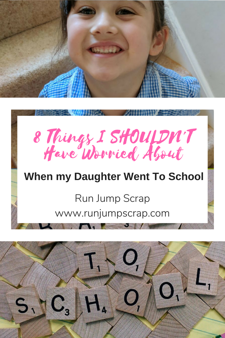 8 things I shouldn't have worried about my daughter starting school