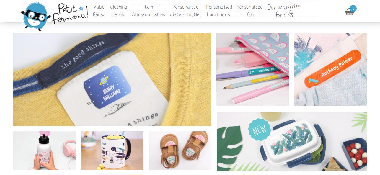 Petit Fernand webpage