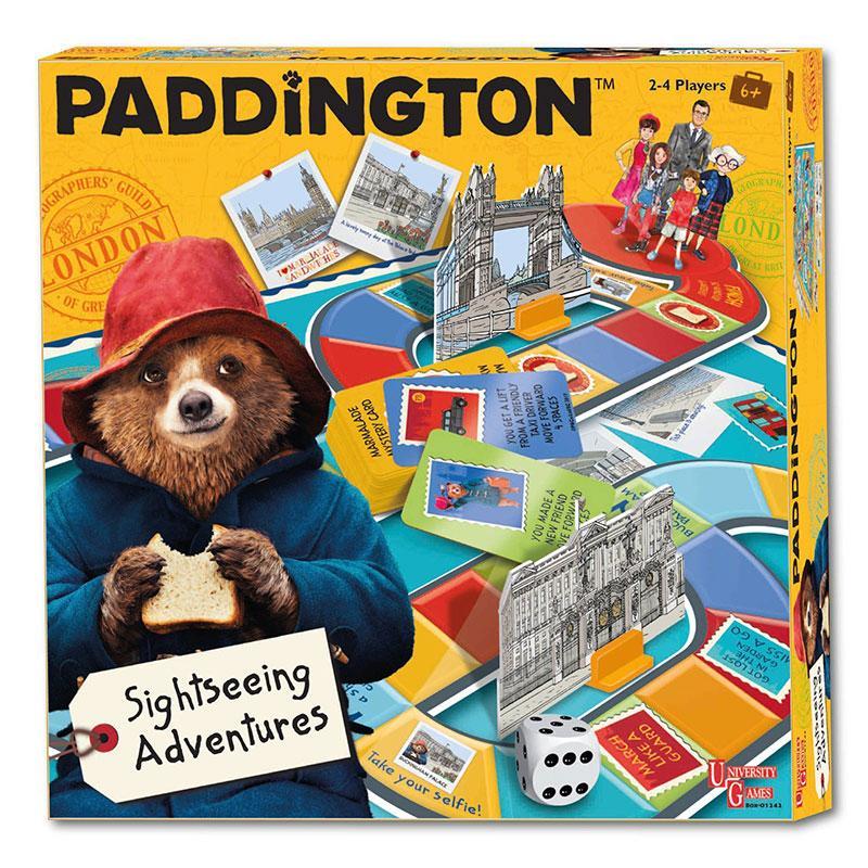 **Win** Paddington Sightseeing Adventures or Paddington Spot The Difference Games!