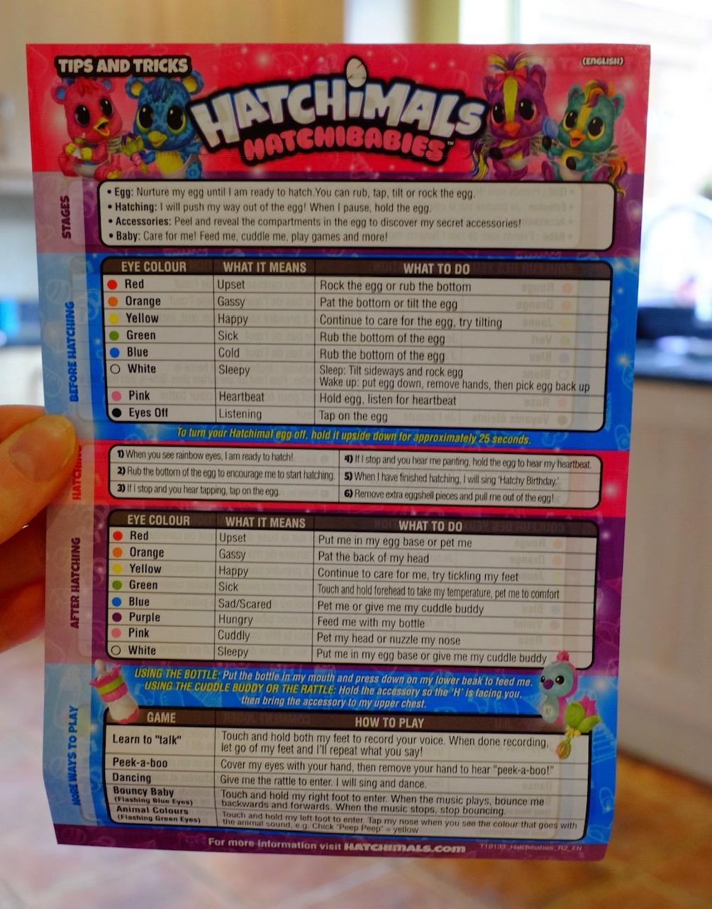 Hatchimals HatchiBabies crib sheet