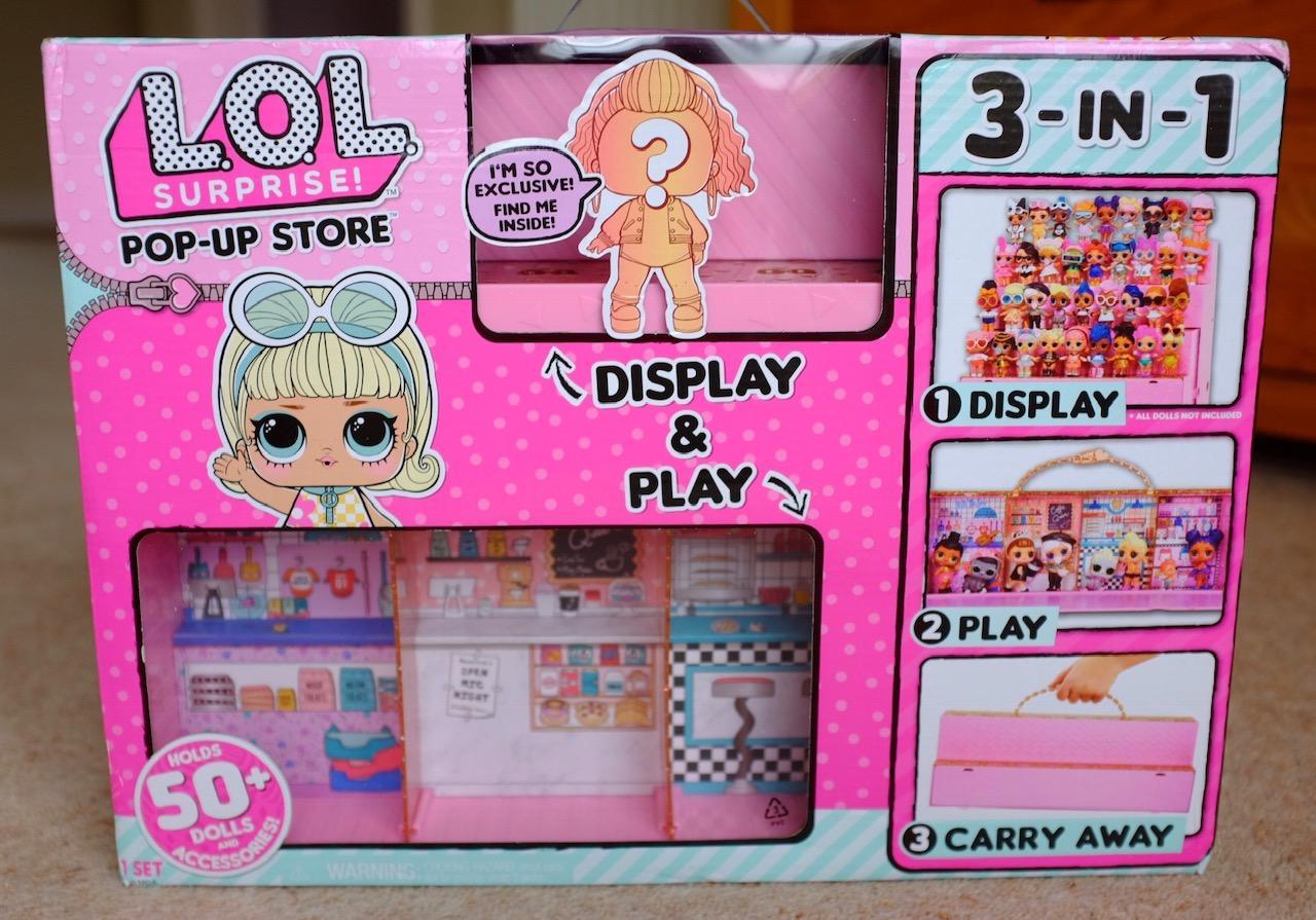 L.O.L. Surprise! Pop Up Store front of box