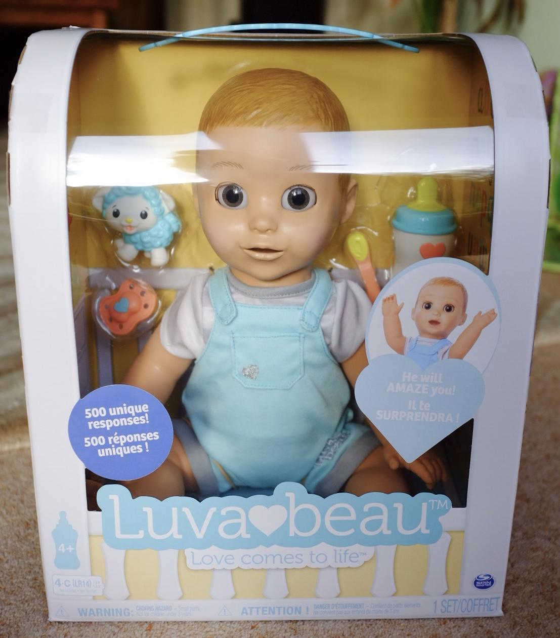 Luvabeau doll in the box
