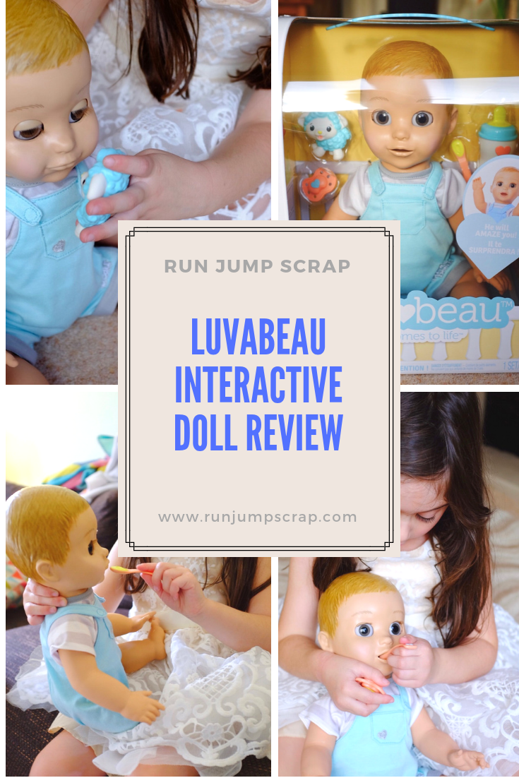 Luvabeau interactive doll review