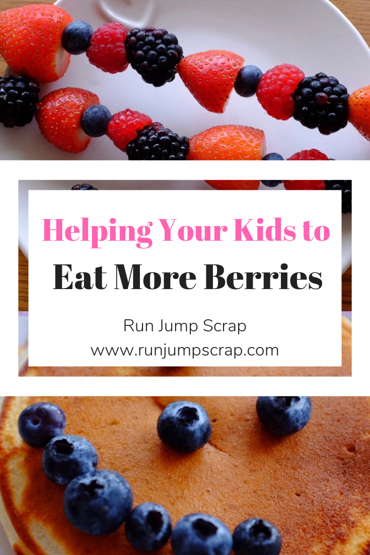 helping your kids to eat more berries