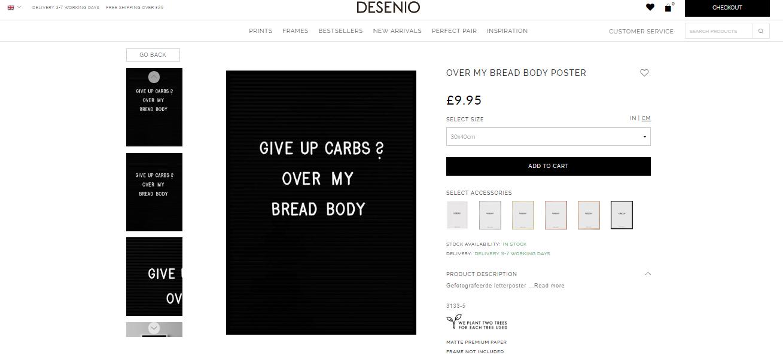 over my bread body desenio