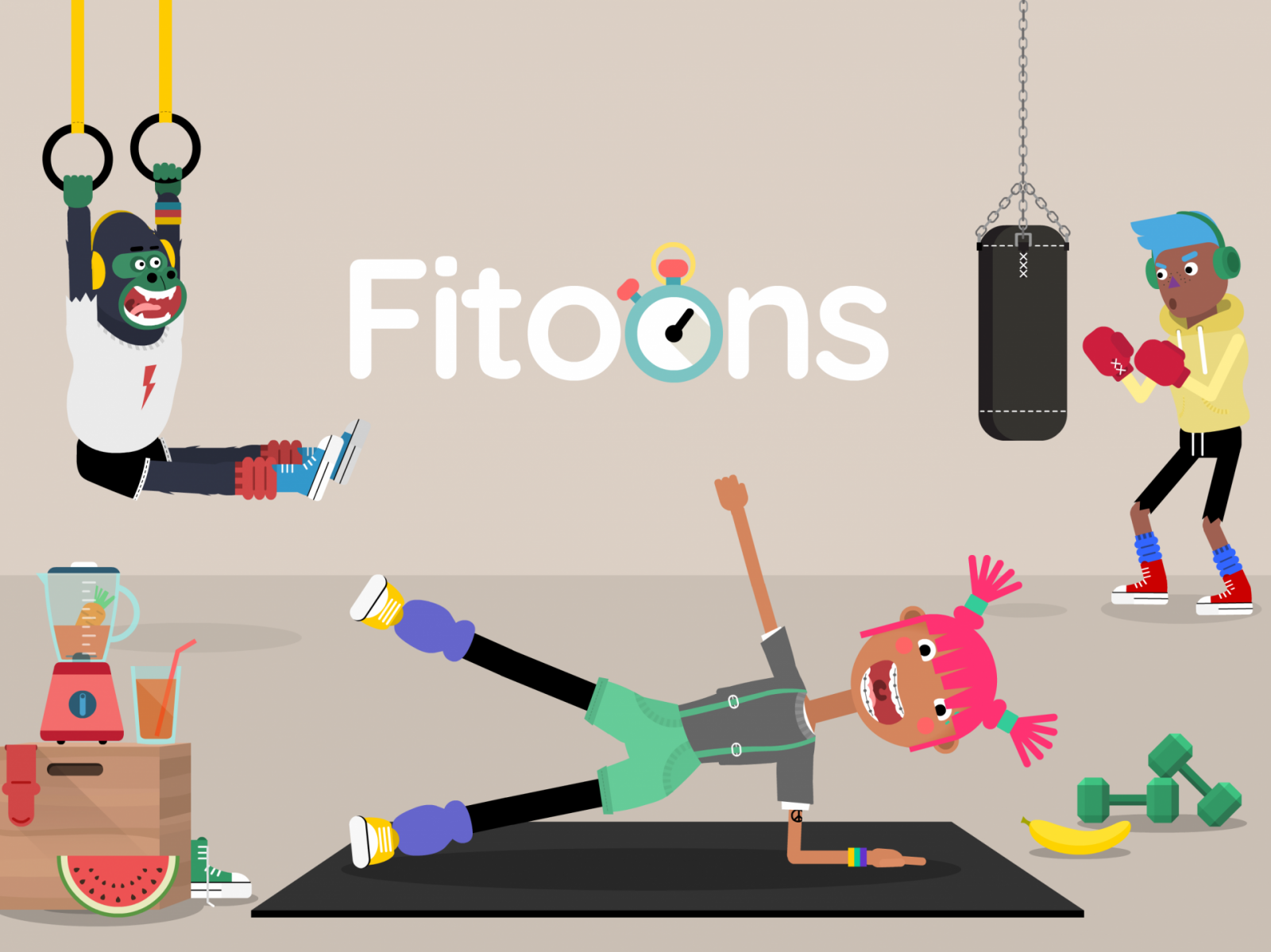 The Fitoons App