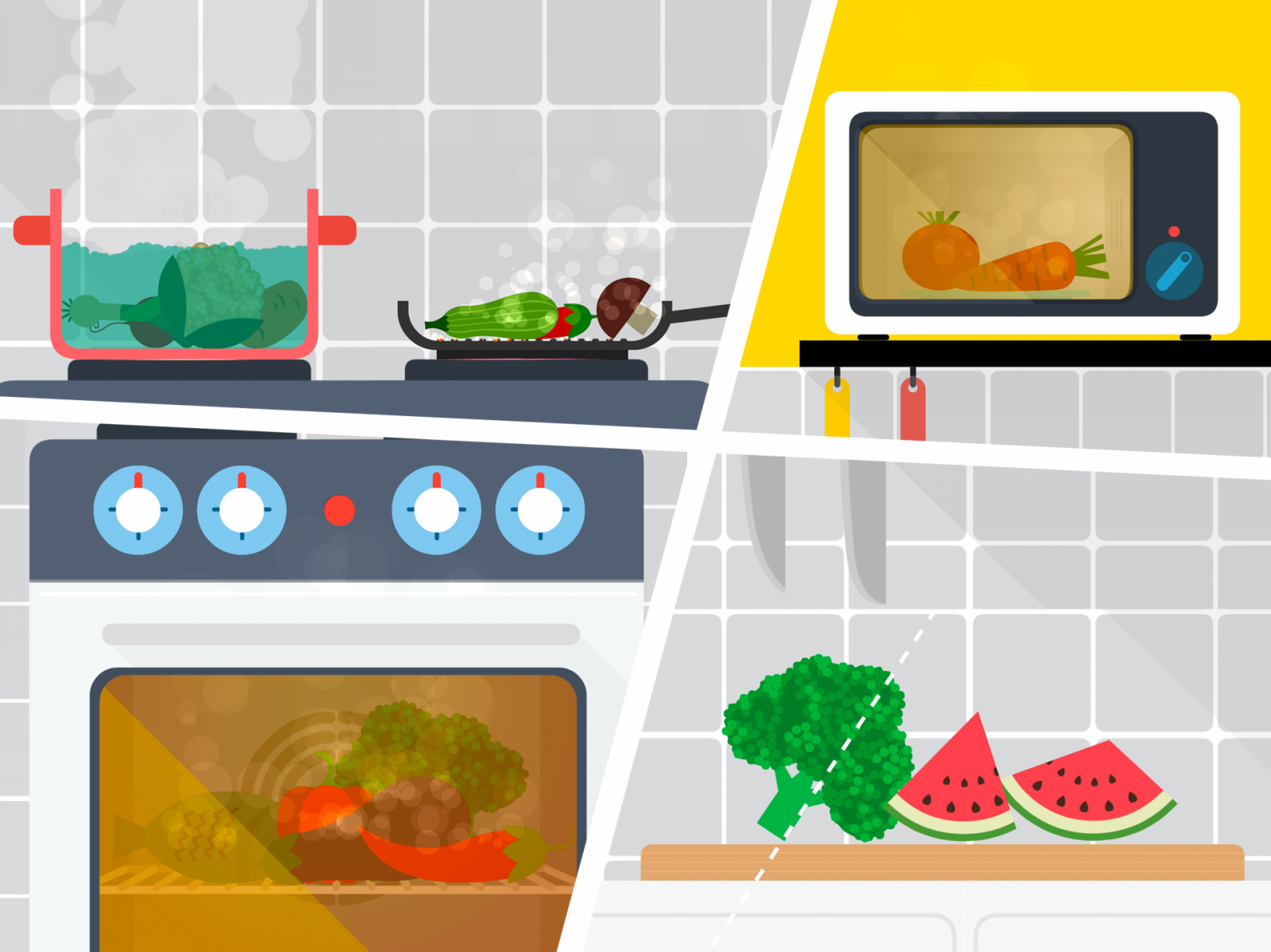 Cooking your food on The Fitoons App