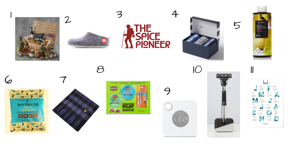 Christmas Gift Guide – For The Man in Your Life