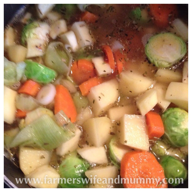 Christmas soup