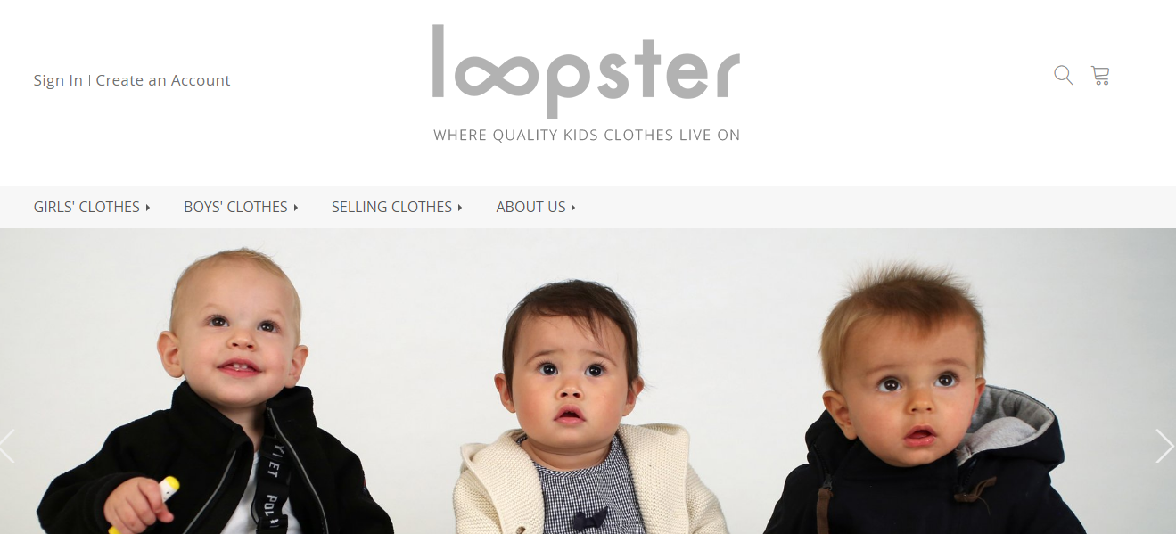 loopster home page