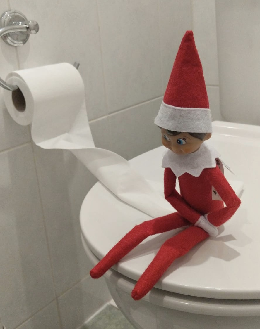 I Hated Elf on the Shelf BUT  I Changed my Mind