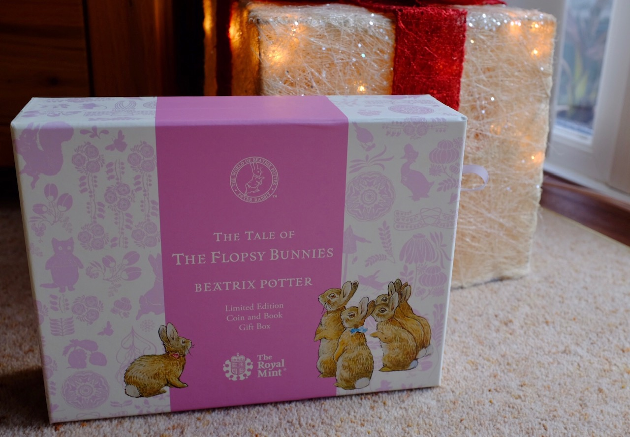 The Flopsy Bunny™ 2018 UK 50p Silver Proof Coin & Book Gift Set Royal Mint