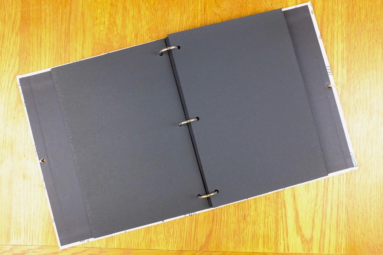 Veesun empty scrapbook