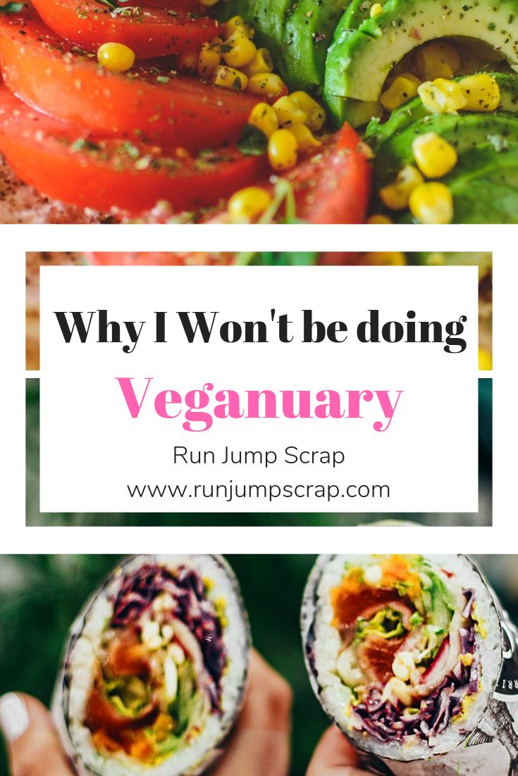 why I won't be doing veganuary