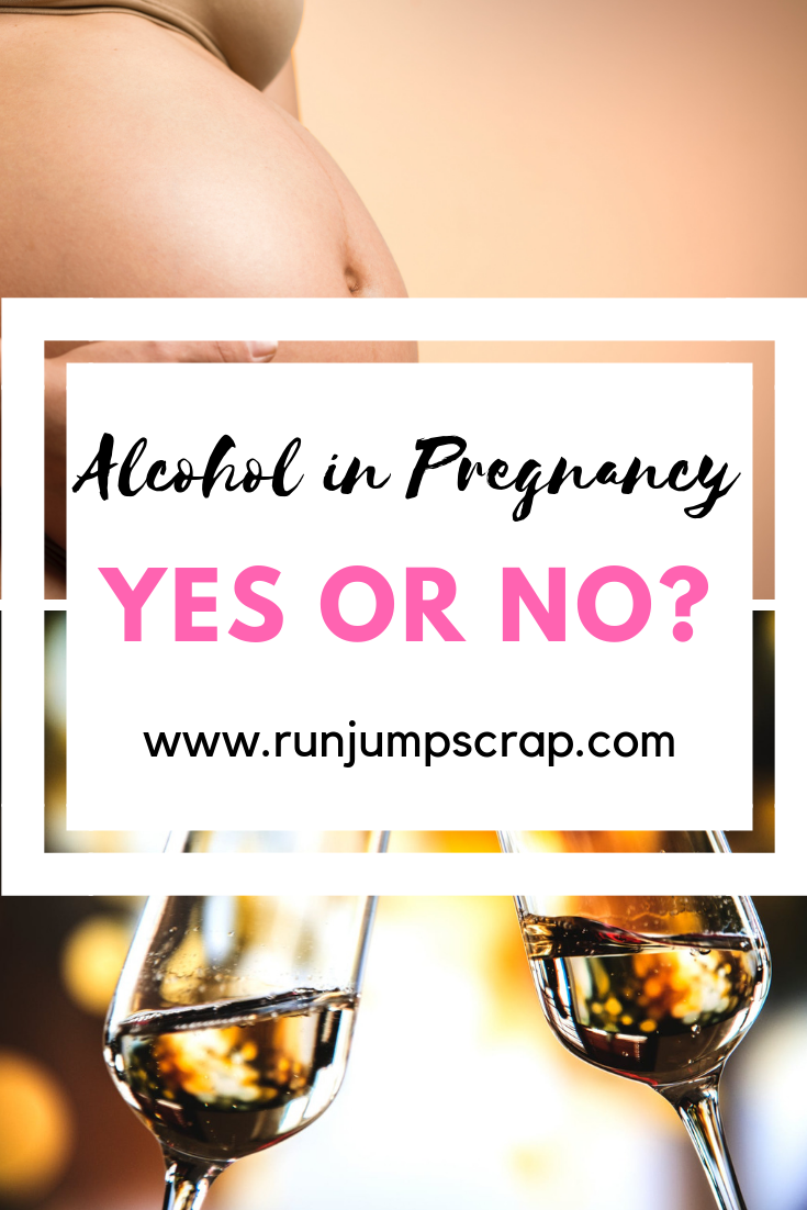 alcohol in pregnancy? Yes or No?