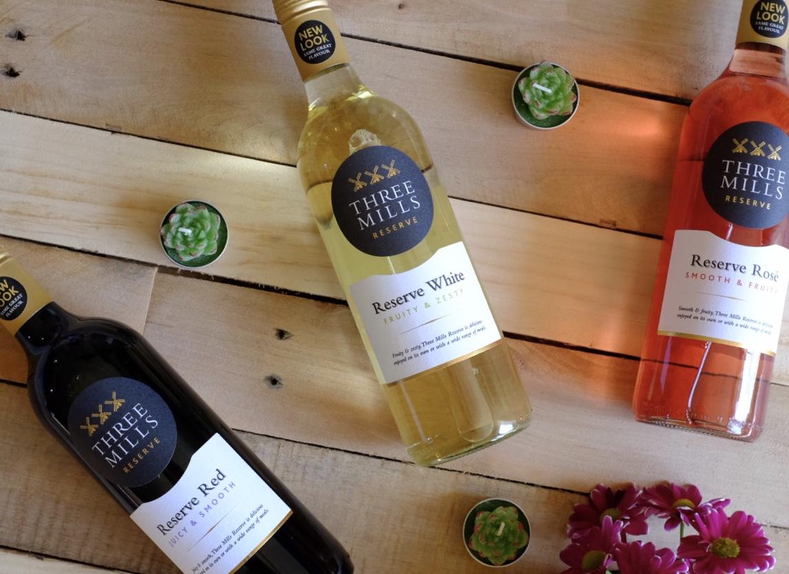 three mills reserve wine