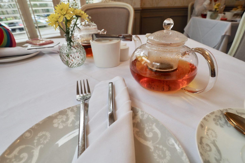 pot of tea - Laura Ashley afternoon tea