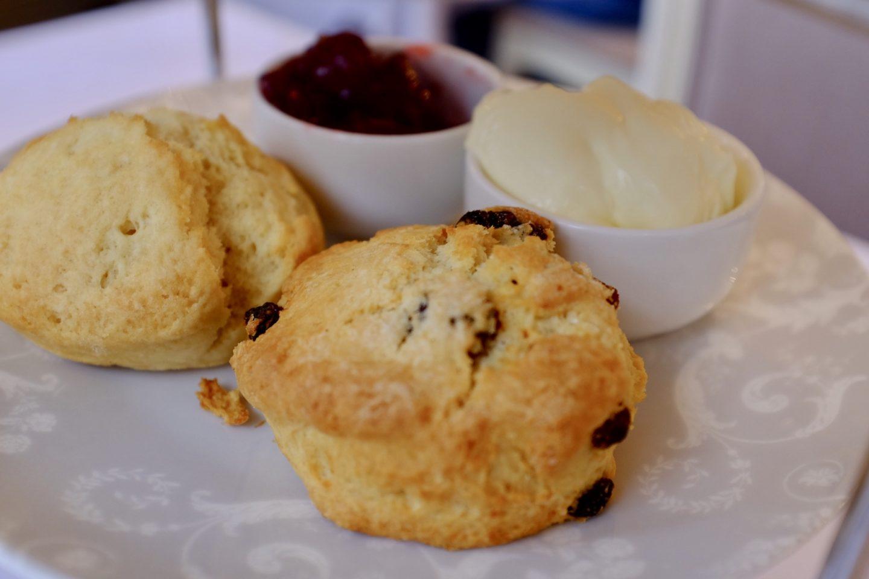 scones Laura Ashley afternoon tea