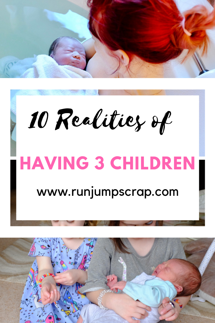 10 realities of having 3 children