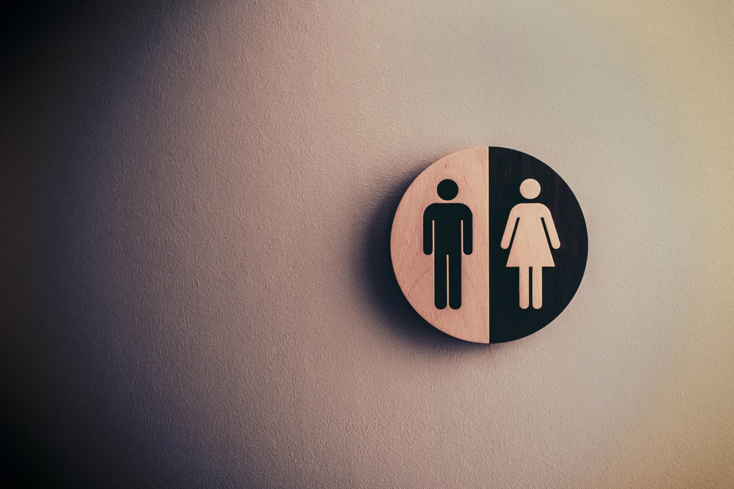 toilet sign men and women