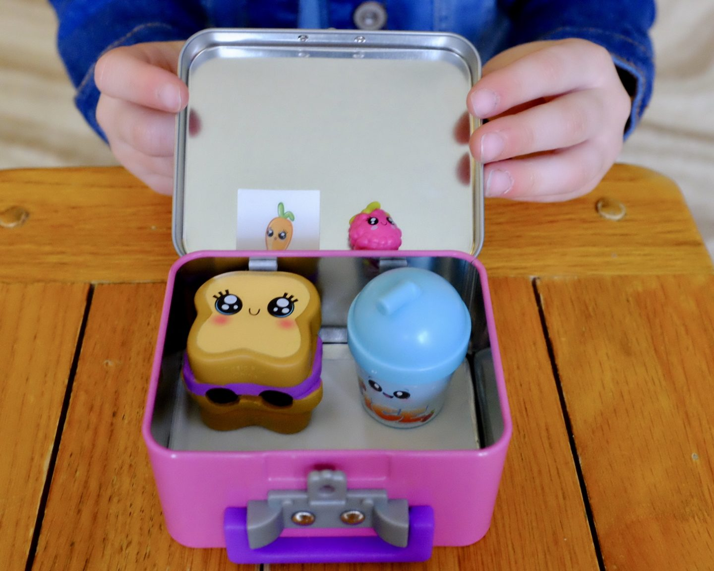 food and drink in my little lucky lunchbox