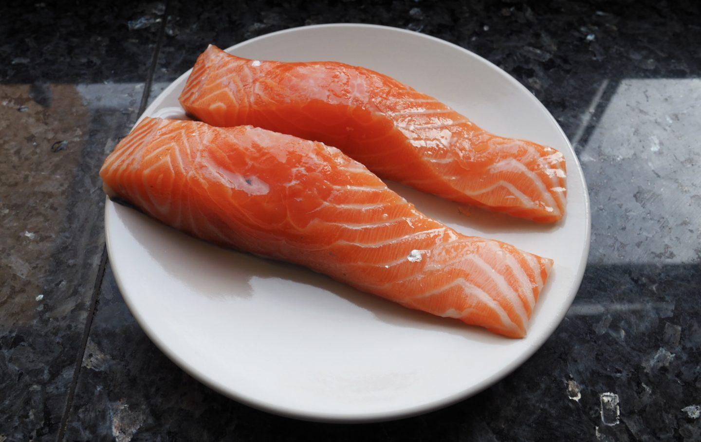 2 salmon fillets