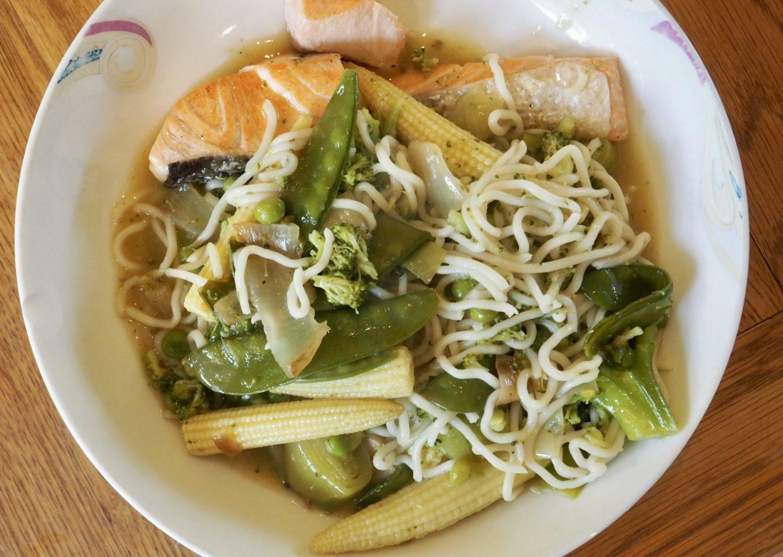 thai salmon green curry