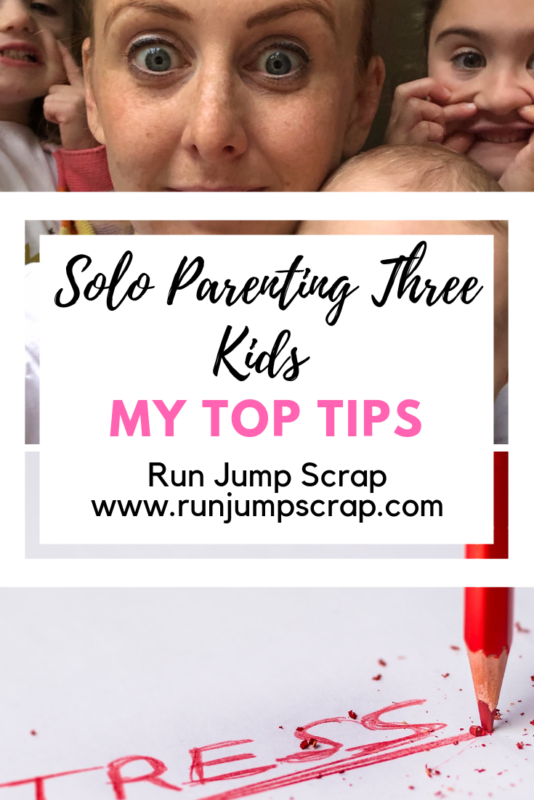 solo parenting three kids