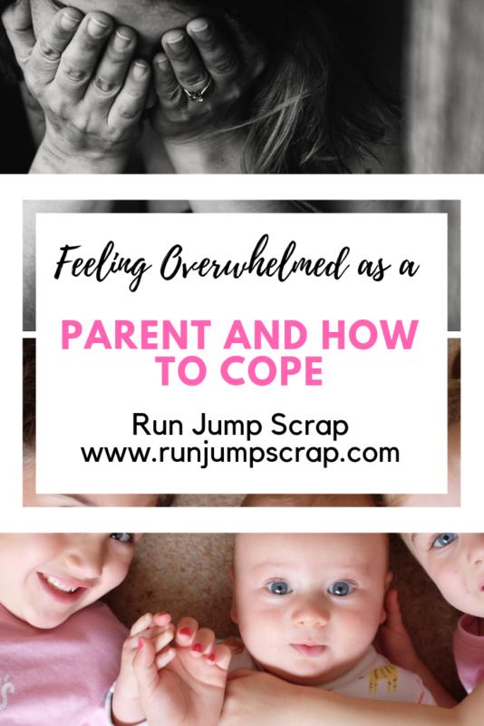 overwhelmed as a parent