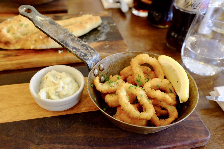 calamari cote brasserie