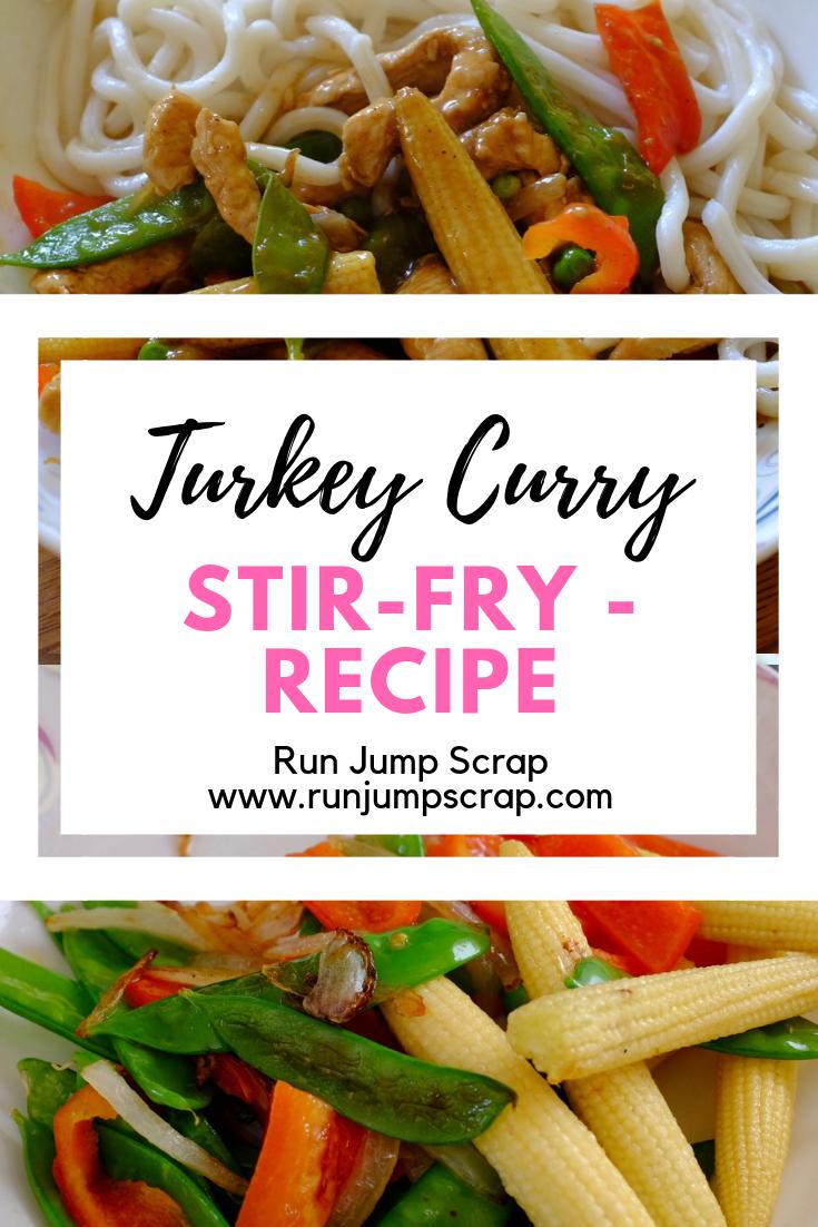 turkey curry stir fry