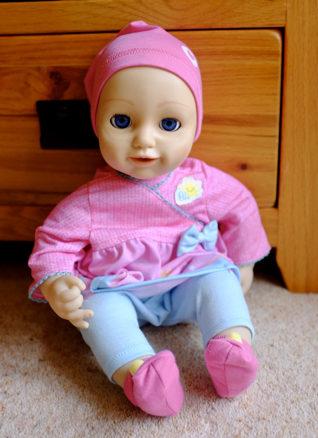 Elli Smiles Doll sat up