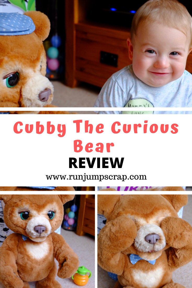cubby the curious bear review
