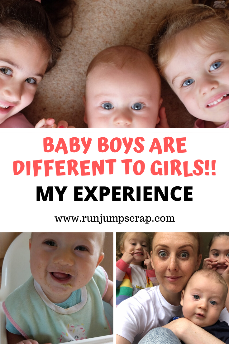 baby boys are different to girls