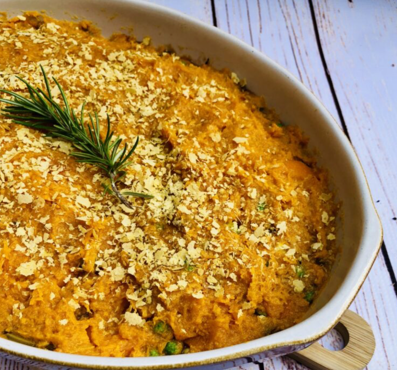 vegan lentil bake