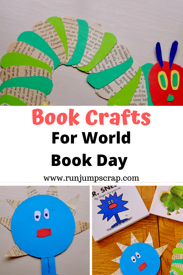 book crafts for world book day