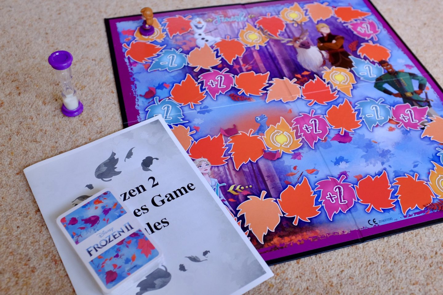 Frozen 2 Games Charades and Shuffle Fun – REVIEW and GIVEAWAY   AD