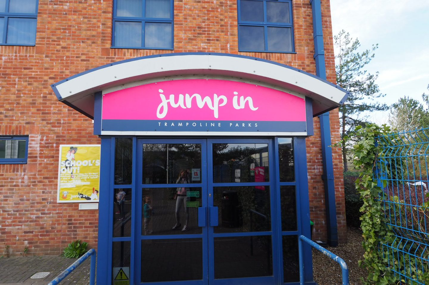 entrance to jump in Warwick