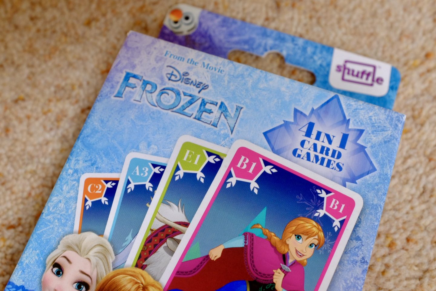 Frozen 2 games - 4 in 1 card games