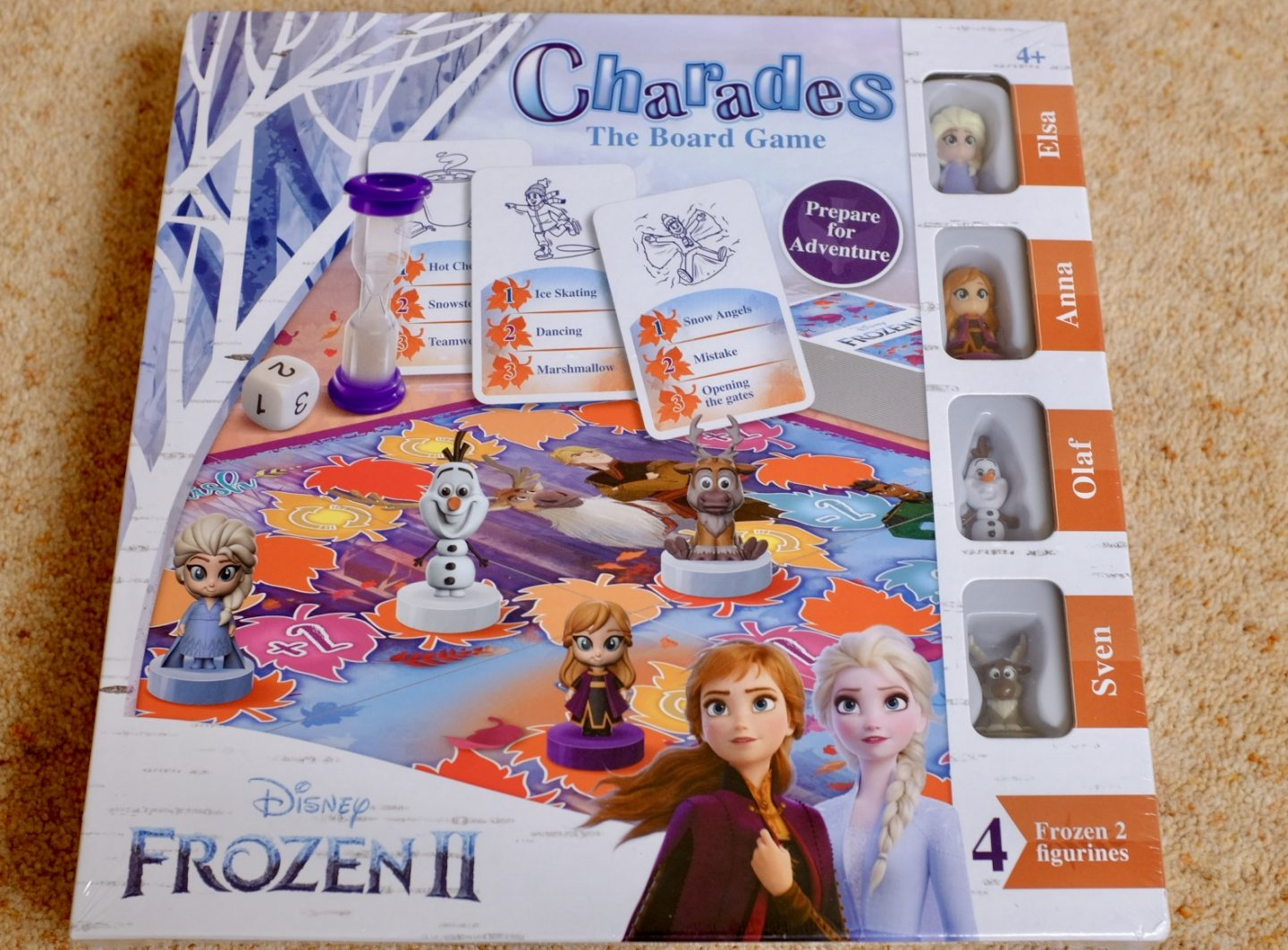 frozen 2 games - charades