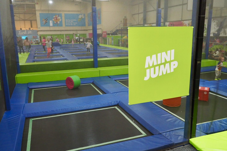 mini jump area
