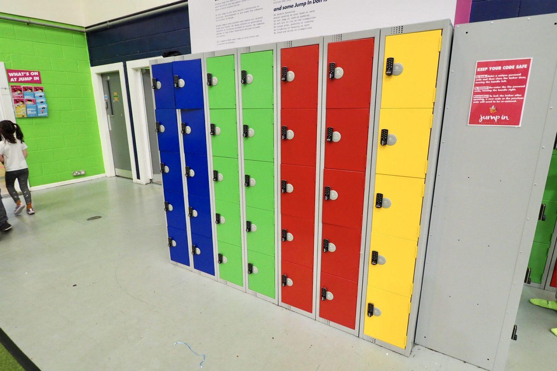 Jump in Warwick lockers